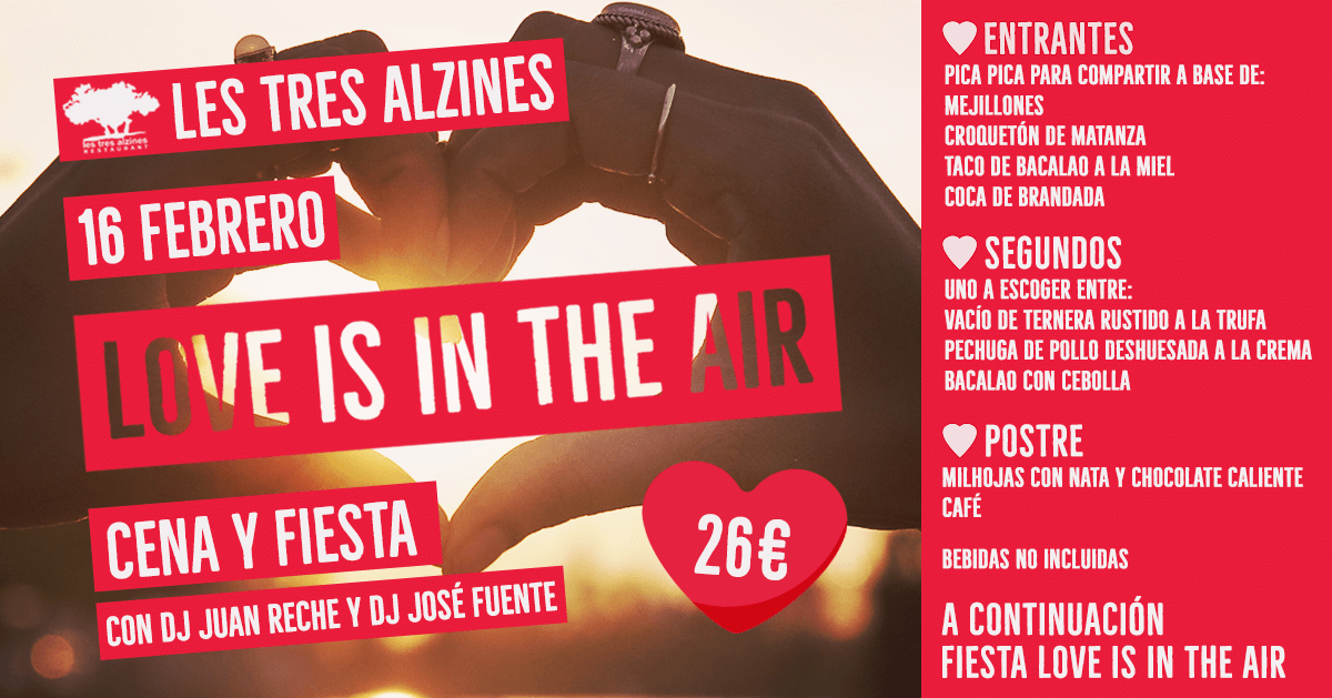 Restaurante braseria en La Roca Village - Les Tres Alzines - Love is in the air