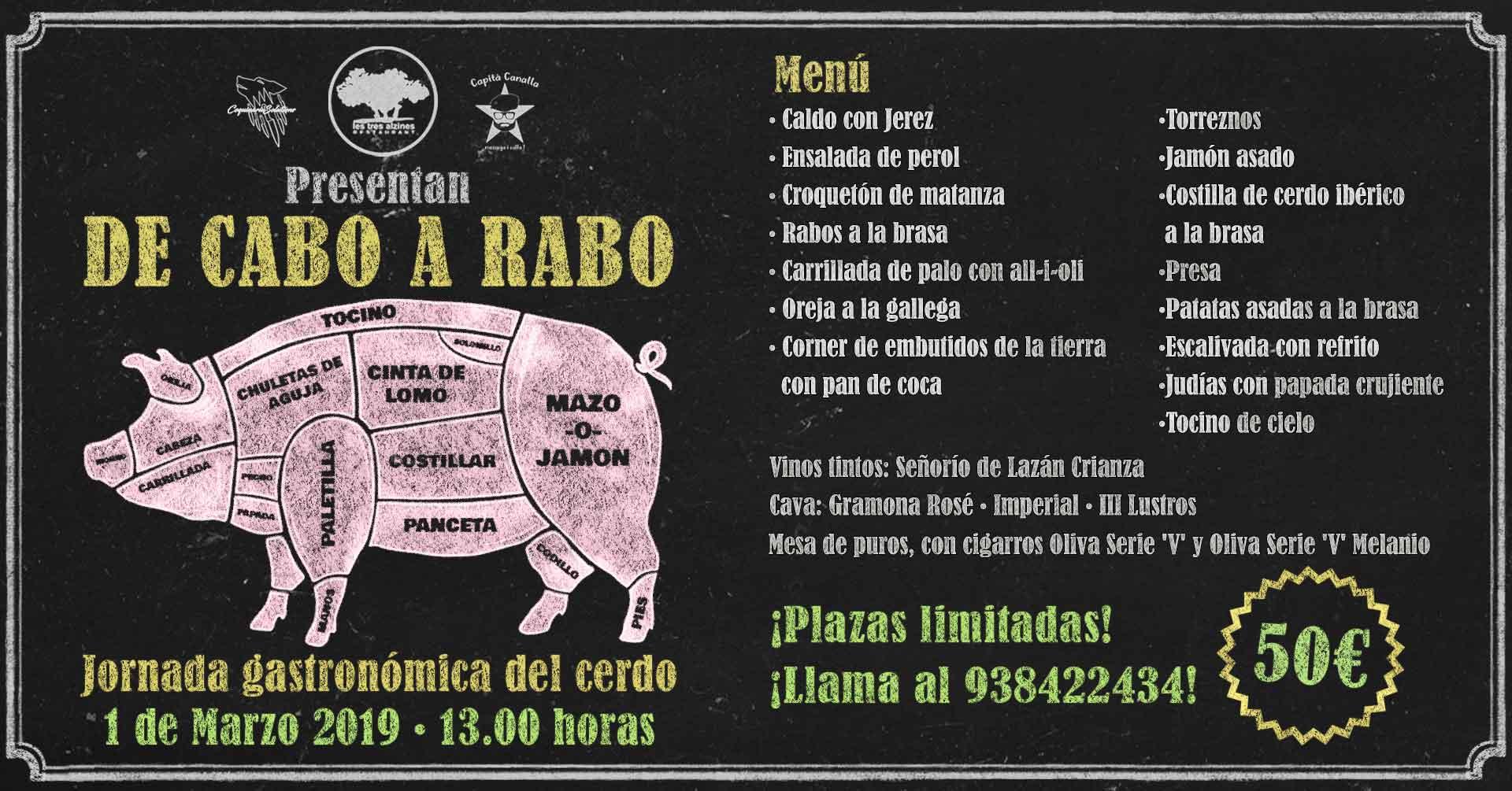 Restaurante braseria en La Roca Village - Les Tres Alzines - De cabo a rabo