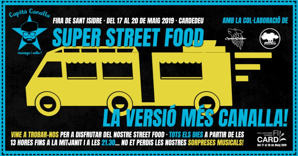 Restaurante braseria en La Roca Village - Les Tres Alzines - Fira de Sant Isidre 2019