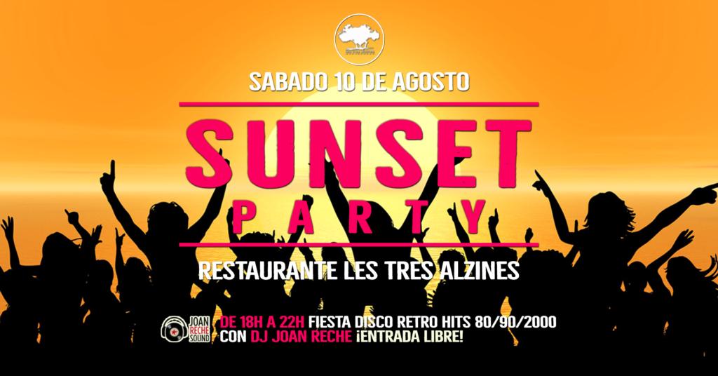 Restaurante braseria en La Roca Village - Les Tres Alzines - Sunset party | 10 de Agosto 2019
