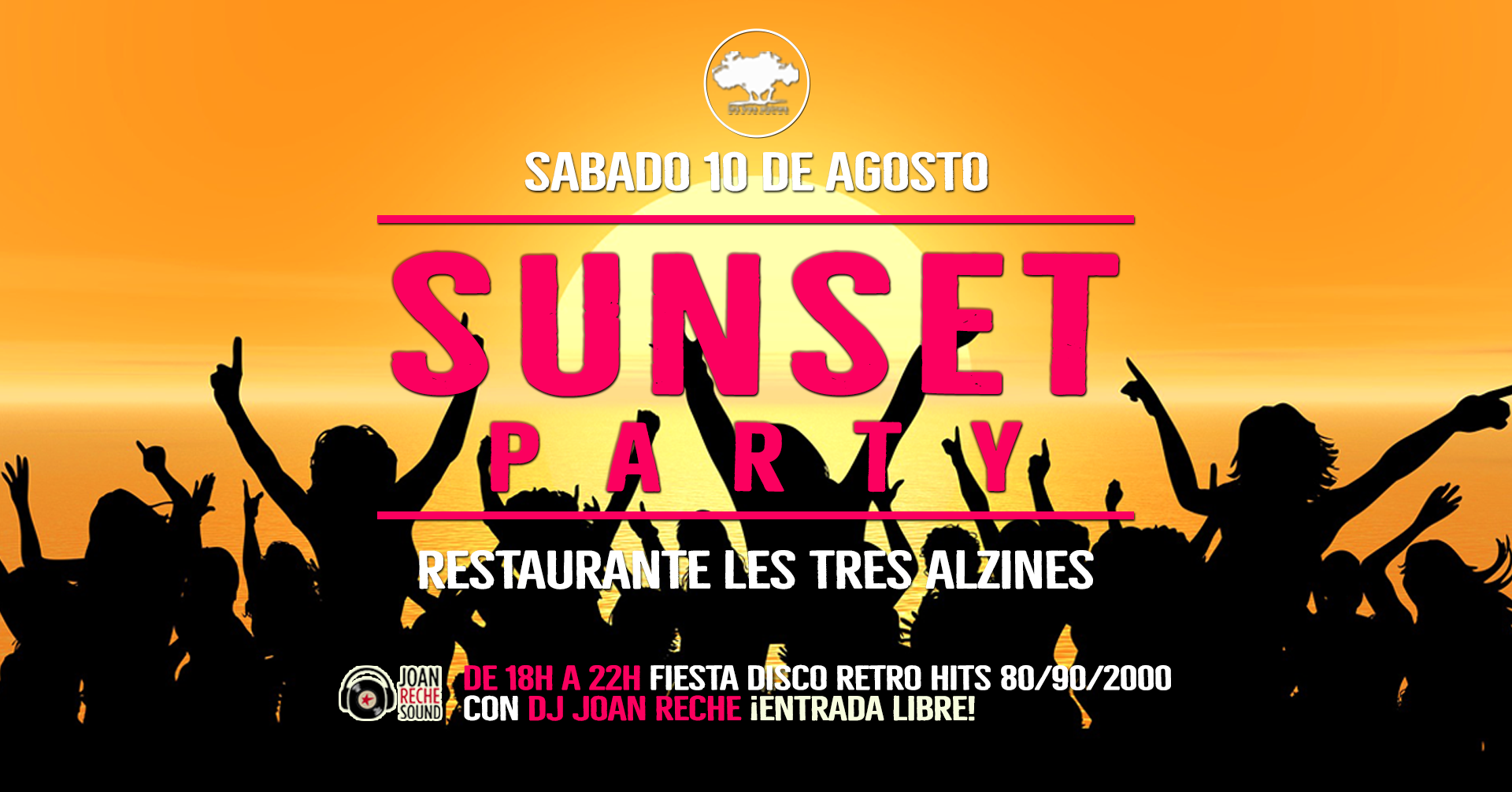 Restaurante braseria en La Roca Village - Les Tres Alzines - Sunset party | 10 de Agosto 2019