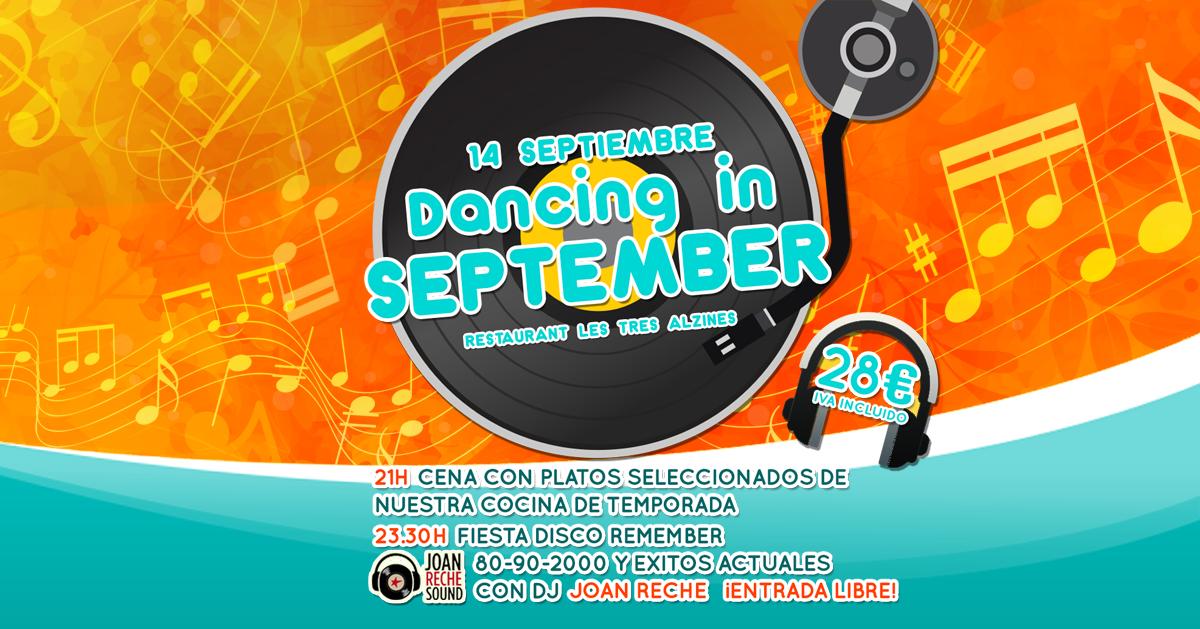 Restaurante braseria en La Roca Village - Les Tres Alzines - Dancing in September | Fiesta | 14 de Septiembre 2019