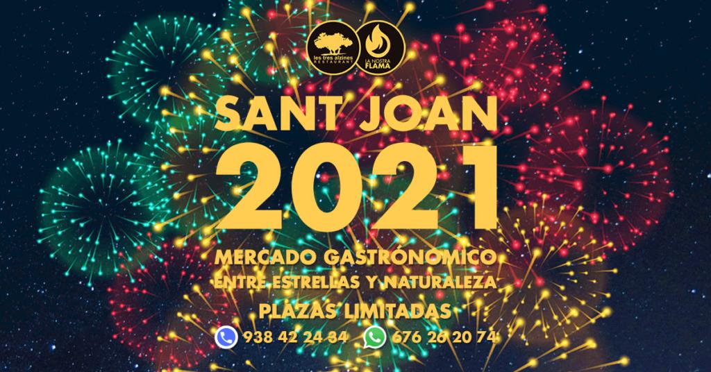 Restaurante braseria en La Roca Village - Les Tres Alzines - ¡Ya está aquí la Verbena de San Juan 2021!