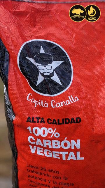 Restaurante braseria en La Roca Village - Les Tres Alzines - Carbón vegetal de Capità Canalla